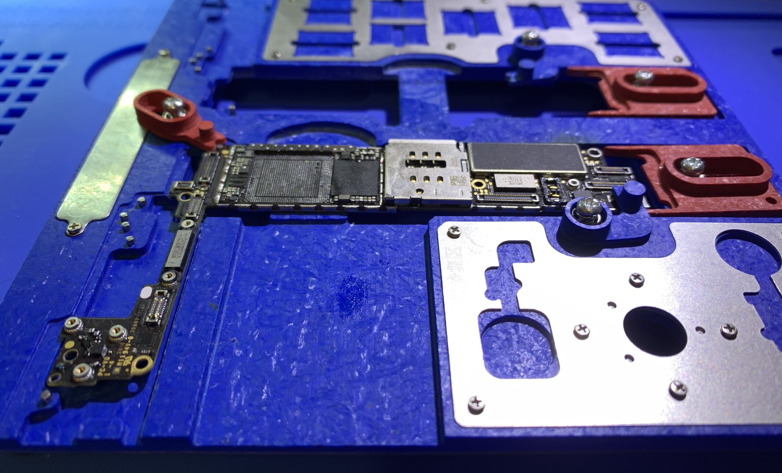 iPhone 7 cpu reballing