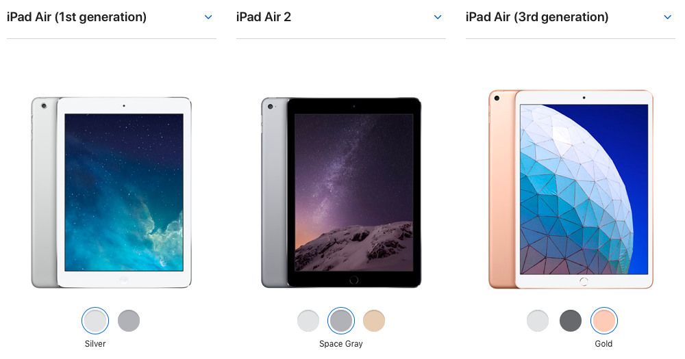 tablet iPad Air