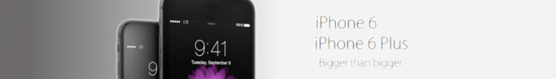 iPhone 6 baner reklamowy