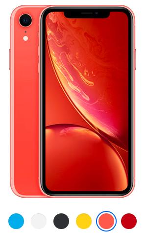 telefon iPhone XR coral