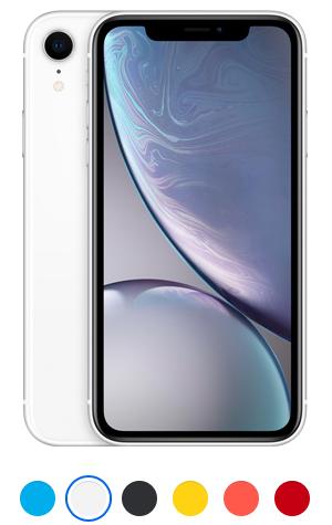 telefon iPhone XR white