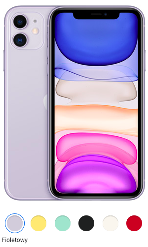 iPhone 11 fioletowy