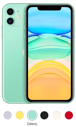 iPhone 11 zielony