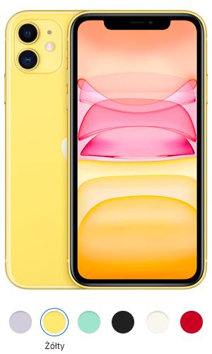 iPhone 11 żółty